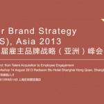 EBSS Presenting Its 2nd Round on Employer Branding & Employee Engagement in Shanghai in August, 2013