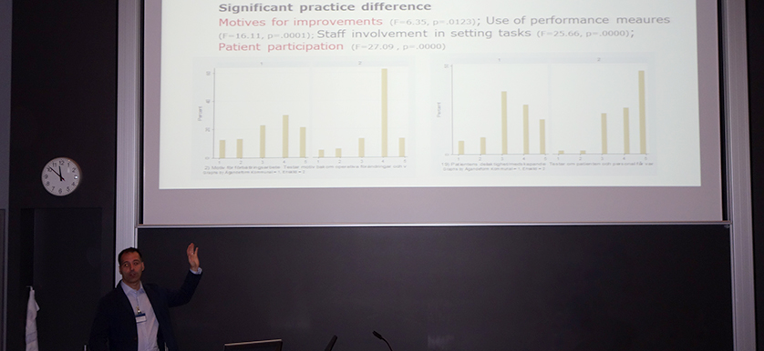 On Performance management for elderly care with Jannis Angelis and Henrik Jordahl, at the PMA 2014 Conference