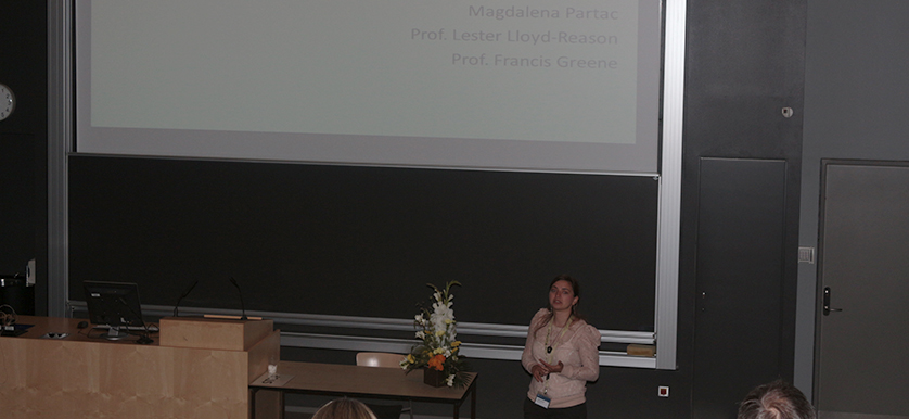 On performance measurement systems with Magdalena Pârţac, Lester Lloyd-Reason and Francis Greene, at the PMA 2014 Conference