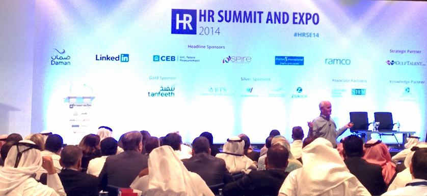 On building global leadership with Marshall Goldsmith at HR Summit and Expo 2014