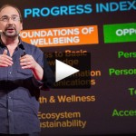 Measuring societal well-being, via the Social Progress Index