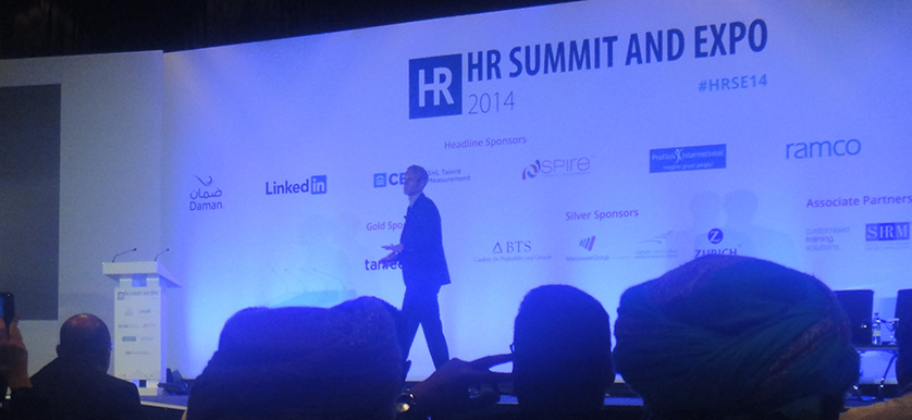 On high performance with Mark Foster at HR Summit and Expo 2014