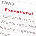 Towards excellent performance reviews