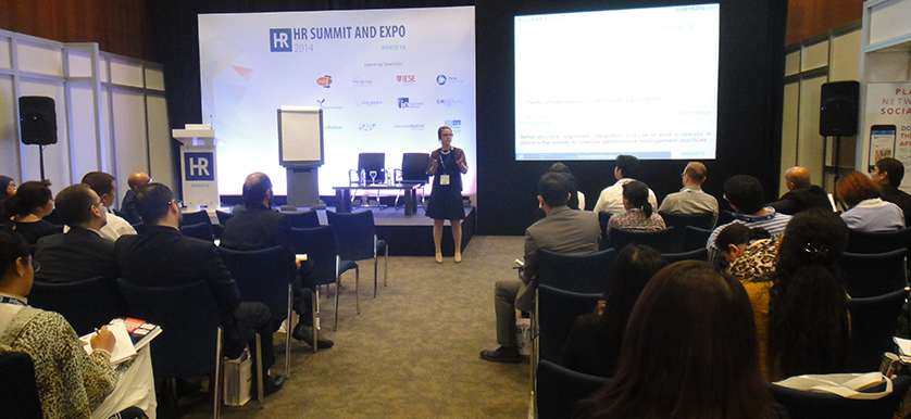 On variable and merit pay with Teodora Gorski at HR Summit and Expo 2014