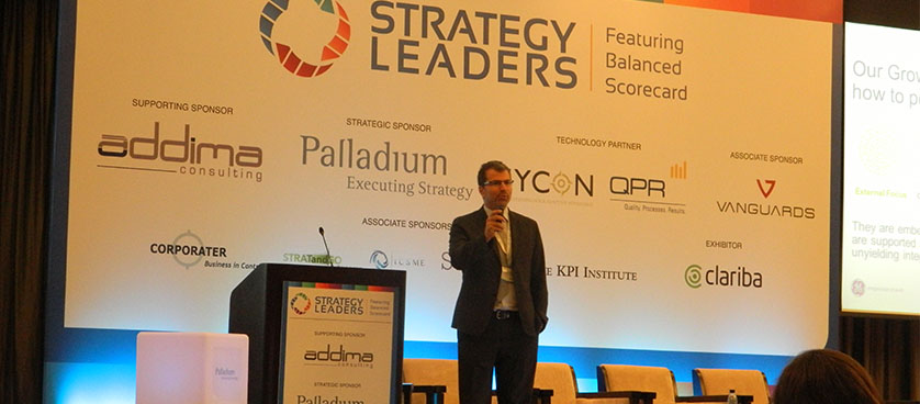 Building Strategic Capabilities: Joe Chalouhi, Dubai, 2014