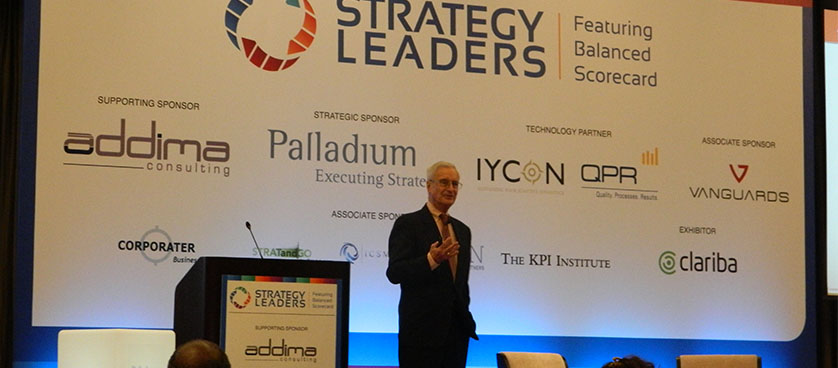 Strategy execution: Robert Kaplan, Dubai, 2014