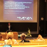Thomas Kjærgaard about Sustainable Development Goals at the PMA 2014 Conference