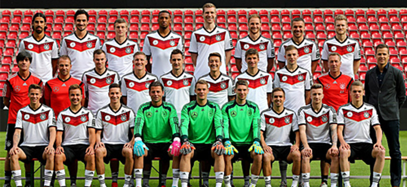 Sports performance training transformed: the German national team at the 2014 World Cup